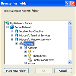 browse How to Map a Network Drive or Folder