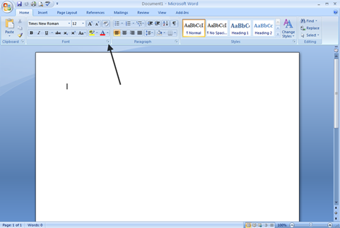 expand font How to Change the Default Settings in Microsoft Word 2007 How to Change the Default Settings in Microsoft Word 2007 expand font thumb
