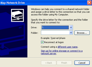 mapping drive How to Map a Network Drive or Folder