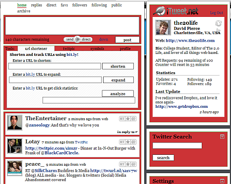 itweet 5 Great Alternatives to the Twitter Interface