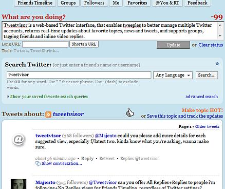 tweetvisor 5 Great Alternatives to the Twitter Interface