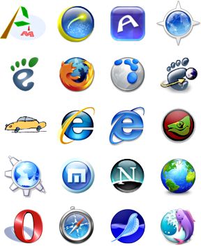 Browsers logos ultimate freeware list web browsers