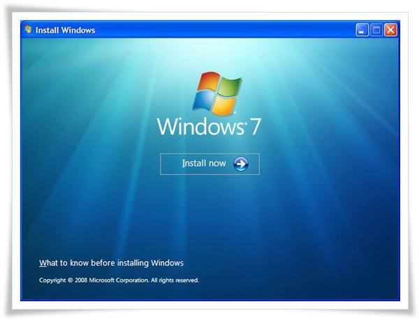 win-7-install-1 How To Dual Boot Windows 7 and Windows XP How To Dual Boot Windows 7 and Windows XP win 7 install 1