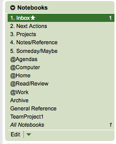 GTD 10 Great Ways to Use Evernote