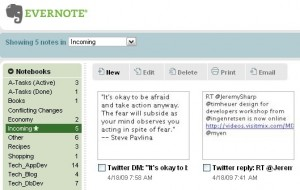 Evernote and Twitter 10 Great Ways to Use Evernote