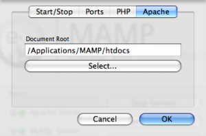 mampapache How To Set Up a Local Web Server on Your Mac Using MAMP