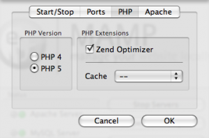 mampphptab How To Set Up a Local Web Server on Your Mac Using MAMP