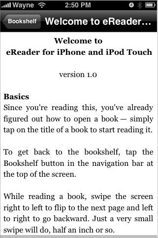 This is how your iPhone will show the text.