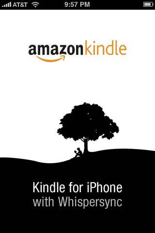 Kindle Starting Screen