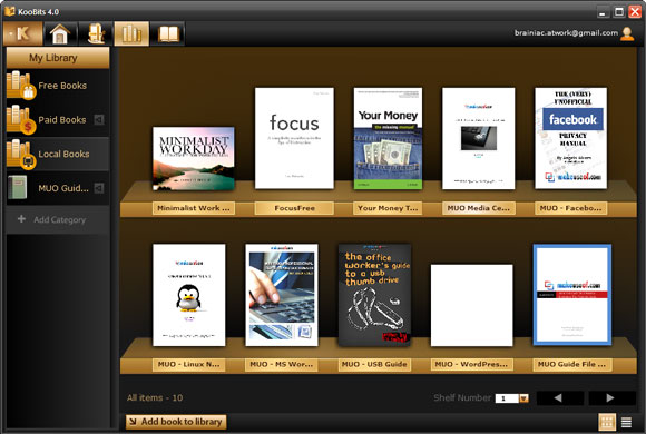 KooBits01 Organize Your Ebooks with KooBits