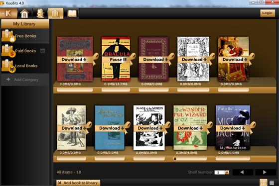 downloadfreebooks Organize Your Ebooks with KooBits