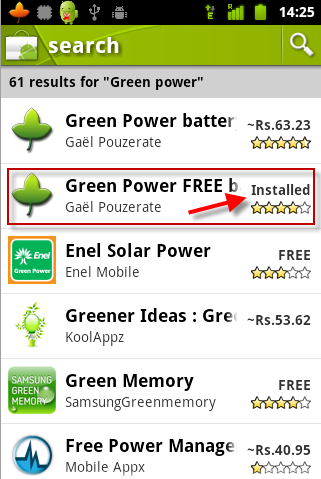 green-power Extend Your Gingerbread Android Battery Life with Green Power