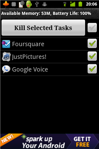 task manager1 4 Android Apps Worth Having in Your Notification Area