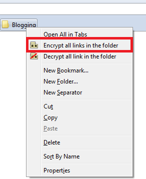 folder lock1 How to Encrypt and Password Protect Firefox Bookmarks