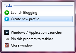 right click1 Launch Multiple Applications at the Same Time with Windows 7 App Launcher