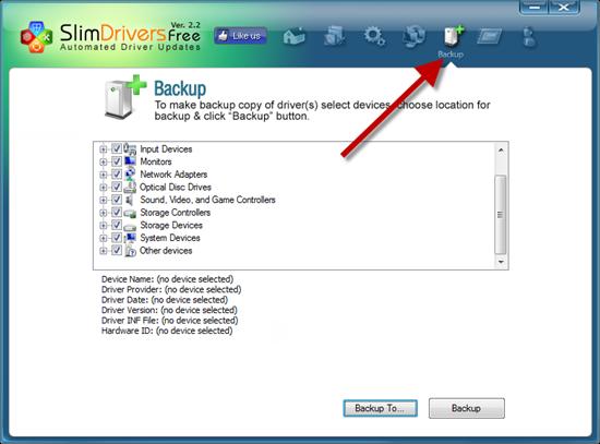 backup drivers drivers backup
