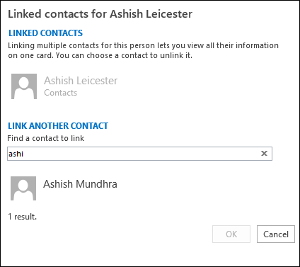 link people contacts How to Merge Duplicate Contacts in Outlook 2013 How to Merge Duplicate Contacts in Outlook 2013 link people contacts