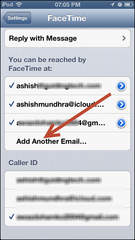 apple facetime (3) How to Add Secondary Email Address to FaceTime