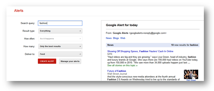 google alerts How to Look for Guest Post Opportunities