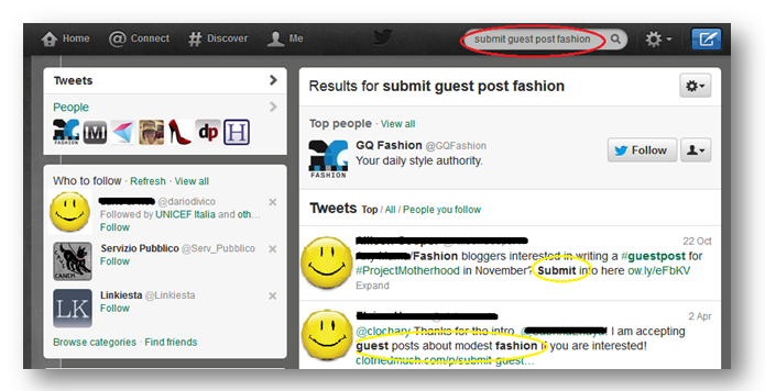 twitter How to Look for Guest Post Opportunities