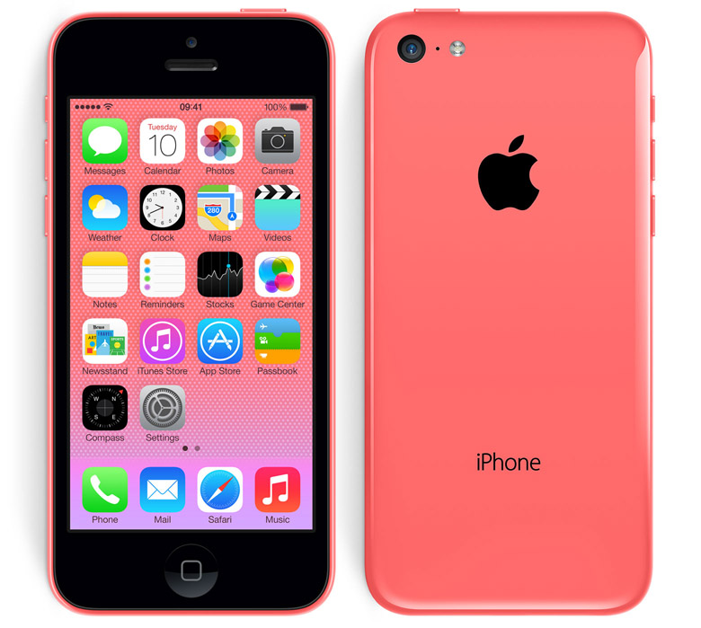 iPhone 5C Pink iPhone 5S Vs iPhone 5C : A Comparison