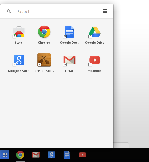 Chrome App Launcher Chrome OS