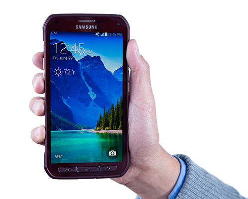 Galaxy S51 Samsung Galaxy S5 Active Goes Official