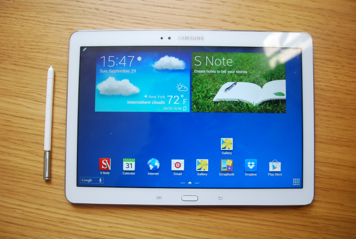 Flash Recovery Samsung Galaxy Note 10 1 2014 Edition Galaxy Note 10.1 Makes Big Splash in the Tablet Market