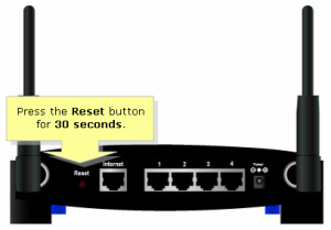 access your router